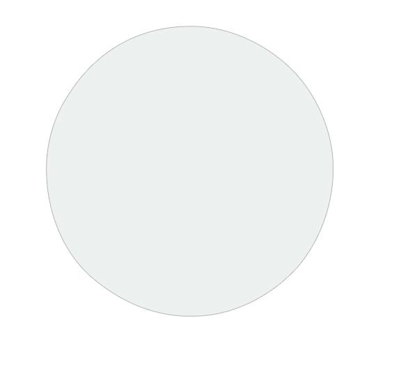 Стол обеденный FANCY (80) WHITE (белый)