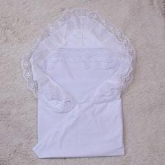 Крыжма крестильная  Любовь (белая)