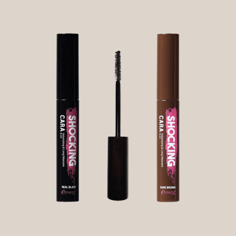 Тушь для ресниц черная Esthetic House Shocking Cara Volumizing & Long Mascara Real Black
