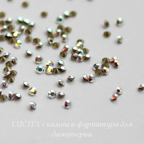 1028 Стразы Сваровски Crystal AB PP 13 (1,9-2 мм), 10 штук (2)