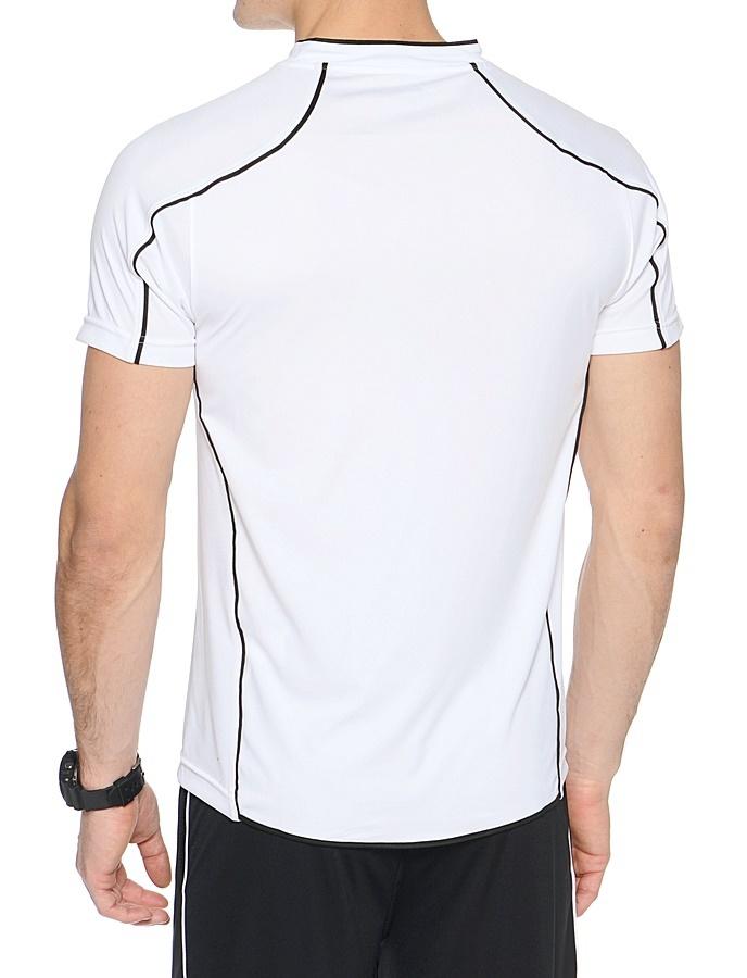 Мужская волейбольная футболка асикс T-shirt Volo (T604Z1 0190) белая фото