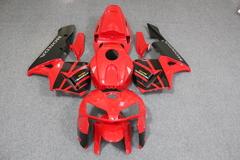 Комплект пластика для мотоцикла Honda CBR 600 RR 05-06 Красно-Черный