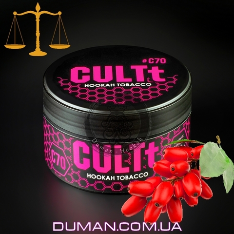 Табак CULTt C70 Barberry (Культ Барбарис) |25г