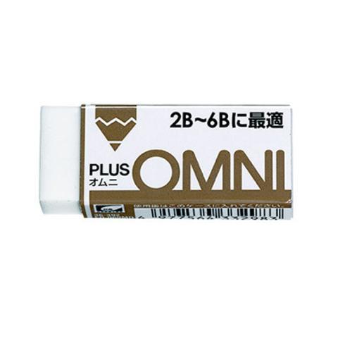 Ластик Plus Omni (для мягких карандашей 2B-6B) 13 г