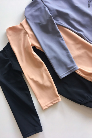 Set: 2 Sleeves leotards | basic №1