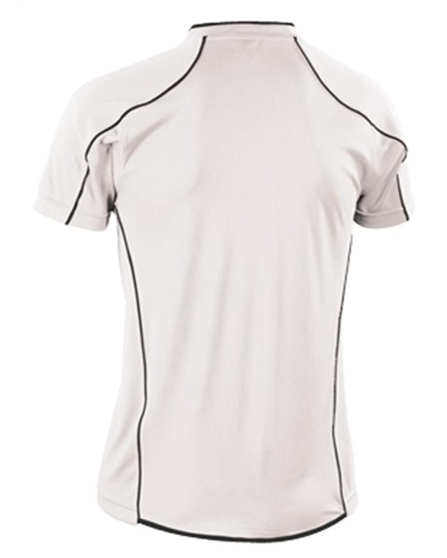 Мужская футболка для волейбола Asics T-shirt Volo (T604Z1 0190) белая фото