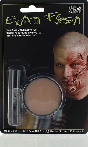 MEHRON Искусственная кожа с закрепителем Extra Flesh and Fixative A