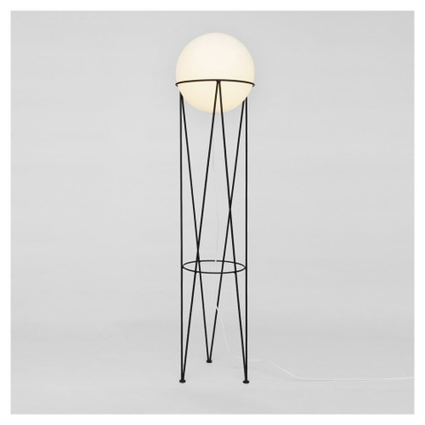 Structure and Globe Floor Lamp  by Atelier Aretti