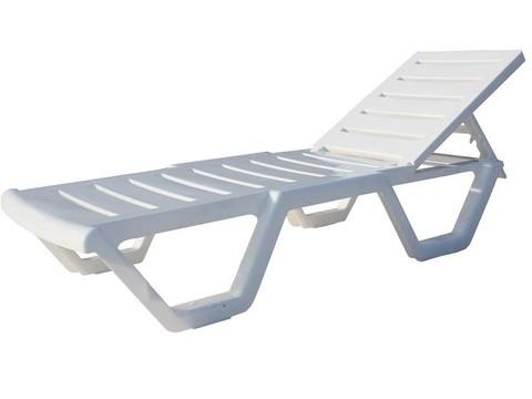 Лежак пластиковый пляжный Sunbed