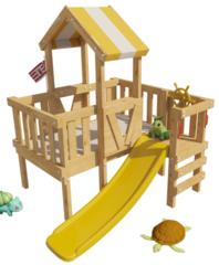Детская игровая кровать-чердак Скуби