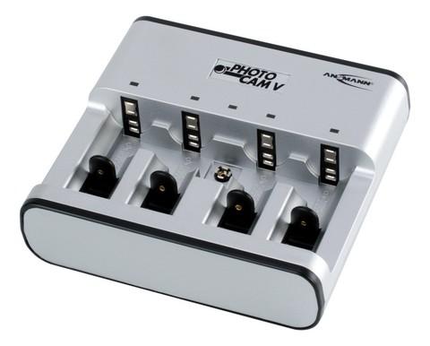 Быстрое зарядное устройство ANSMANN PhotocamV (AA,ААА,С,D,Е крона)