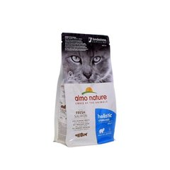 Корм для кастрированных кошек, Almo Nature Functional Adult Sterilised Salmon and Rice, с лососем и рисом