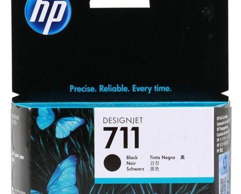 Картридж CZ129A (№711) черный для HP DesignJet T120/T520 (38мл)
