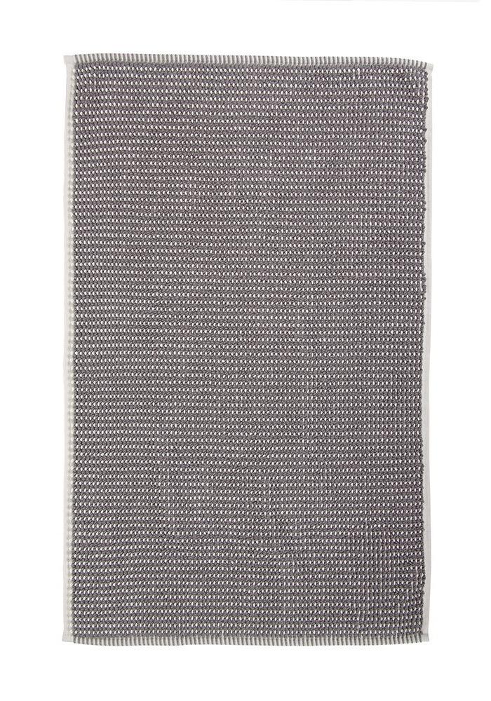Элитный коврик для ванной Payas слоновая кость-серый от Hamam