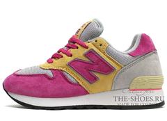 Кроссовки Женские New Balance 670 Grey Beige Pink
