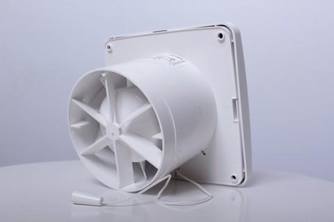 Blauberg Aero 125 H Накладной вентилятор с датчиком влажности и таймером
