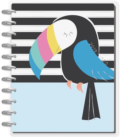 Ежедневник BIG Happy Planner® - Pastel Tropics- на 18 мес (2019-2020)-  23х28.5см