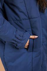 Пуховик-одеяло удлиненный