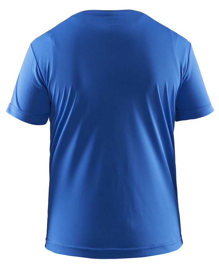 Детская беговая футболка Craft Active Run Logo (1903256-1314) голубая фото