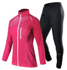 Женский костюм для бега Noname Pro Running розовый-черный