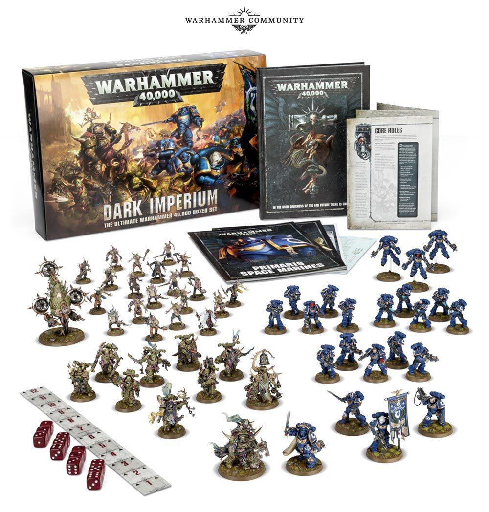 Dark Imperium: 8 редакция. Содержимое коробки