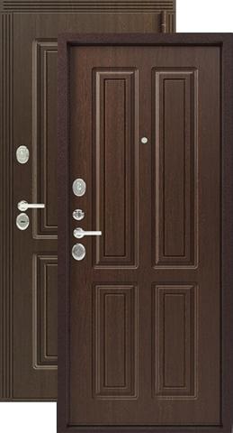 Дверь входная Легион L-4/1, 2 замка, 1,2 мм  металл, (медный муар+вайлд)