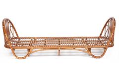Кровать-софа Secret De Maison Сюзана 200х100 (Suzane) (mod. 18 5090 DB SP ) — светлый мед