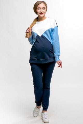 Спортивный костюм для беременных и кормящх 11500 синий