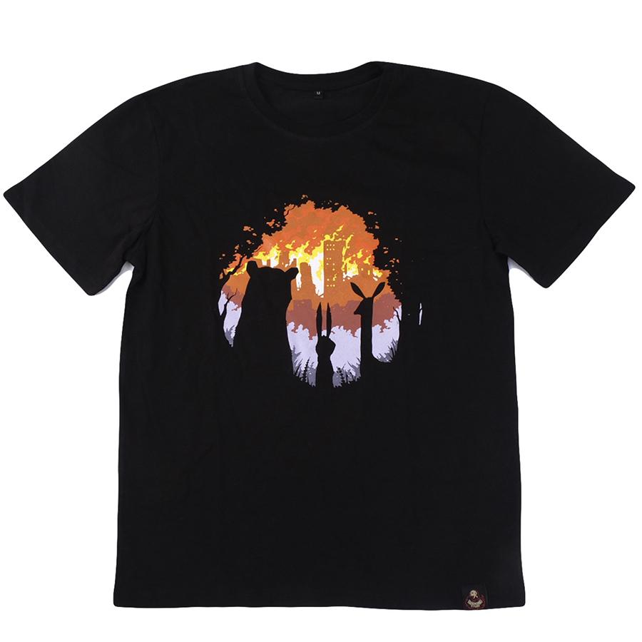 BURN BURN BURN / футболка