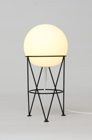 Structure and Globe Desk Lamp by Atelier Aretti