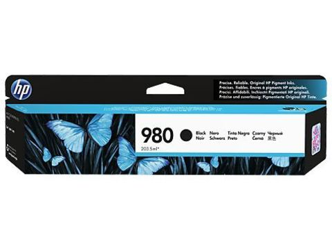 Картридж D8J10A №980 чёрный HP OfficeJet Enterprise. Ресурс 10K