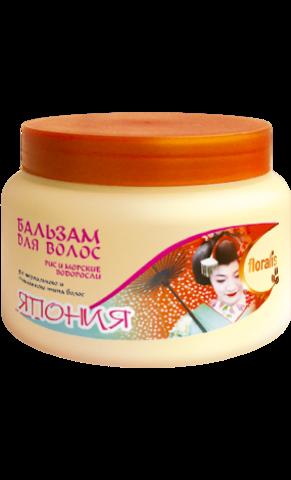 Floralis Восточные Страны Бальзам для волос Рис и Морские водоросли Япония 500г
