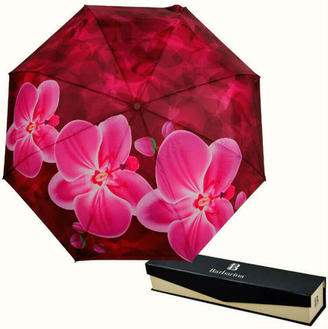 Купить онлайн Зонт складной Barbarina 2302 Orchidea в магазине Зонтофф.
