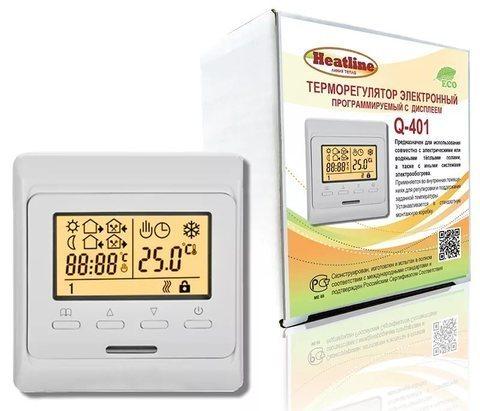 Терморегулятор Q-401. программируемый
