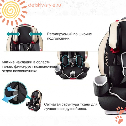 "Автокресло ""Aprica Euro Harness STD"" (Априка)"