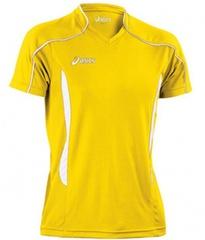 Мужская волейбольная футболка Asics T-shirt Volo (T604Z1 QV01) желтая