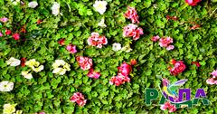 """Фотосетка """"Рада"""" для декора заборов """"Цветы"""" 158х300 см."""
