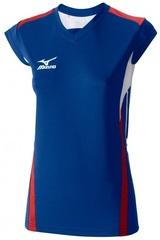 Футболка Mizuno Premium W'S Cap Sleeve женская волейбольная