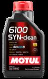 Motul 6100 Syn Clean 5W40 Синтетическое моторное масло