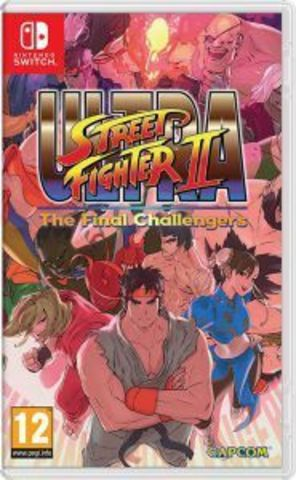 Nintendo Switch ULTRA STREET FIGHTER II: The Final Challengers (английская версия)