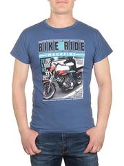 17626-2 футболка мужская, синяя