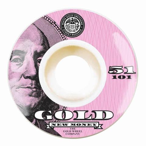Колёса GOLD WHEELS New Money (Pink) 101A