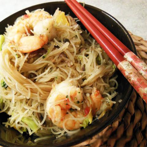 Как приготовить китайскую лапшу с морепродуктами