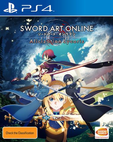 PS4: Sword Art Online: Alicization Lycoris (русские субтитры)