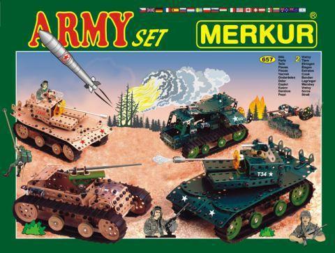 Merkur M-1129 Металический конструктор ARMY Set