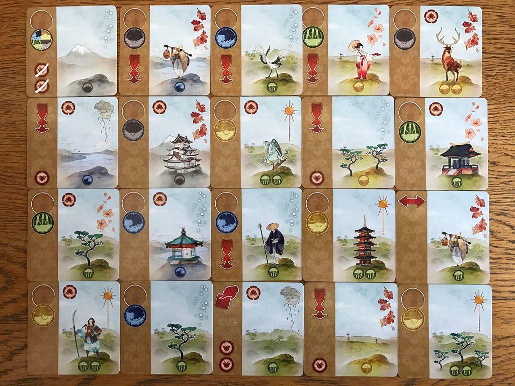 Настольная игра Канагава (Kanagawa)