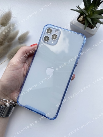 Чехол iPhone 11 Pro Max Simple pure angle /blue/ 446