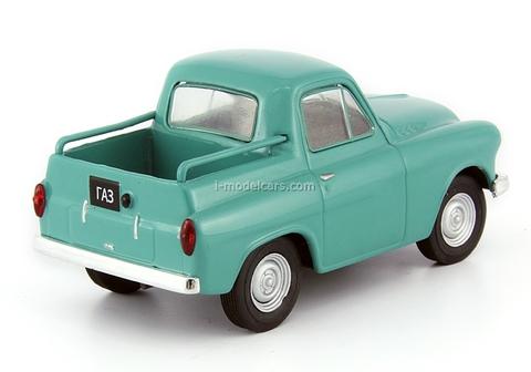 GAZ-M73 green 1:43 DeAgostini Auto Legends USSR #117