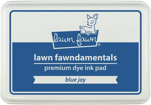 Штемпельная подушечка lawn fawn - blue jay