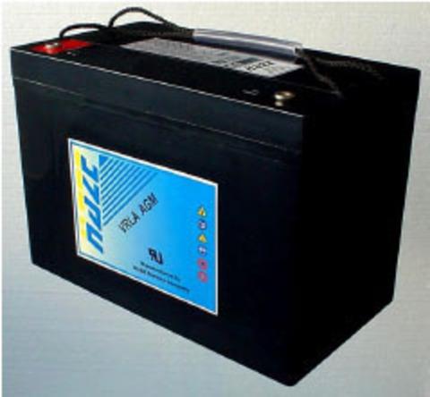 Аккумуляторы HAZE HZB12-75 - фото 1